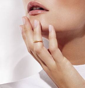 Tube Midi Ring - minimal jewellery