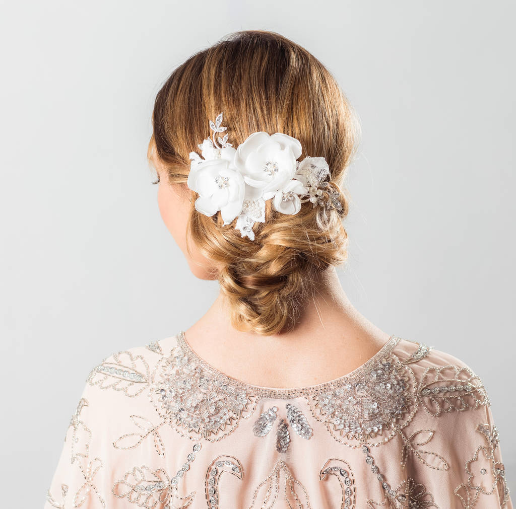 Isadora Floral Hair Comb