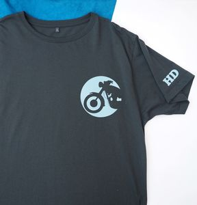 Personalised Monogram Motorbike T Shirt - Mens T-shirts & vests