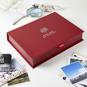 Personalised Retirement Memory Box