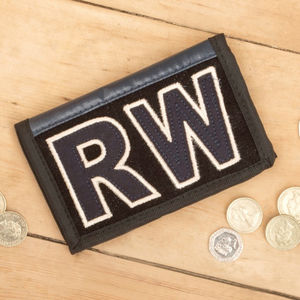 Personalised Tarpaulin Wallet - wallets & money clips