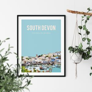 South Devon, The English Riviera Art Print