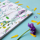 Fleur Botanique Thicker A5 Notebook With Lined Pages