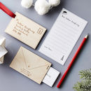 Personalised Letter To Santa Decoration