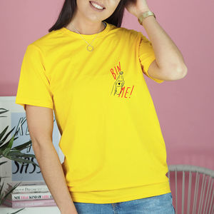 'Bin Me' Illustrated T Shirt