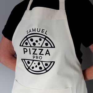 Personalised Pizza Pro Apron - kitchen accessories