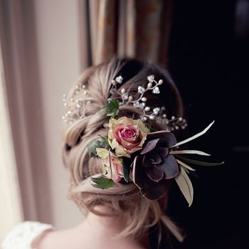 Petal Wedding Hair Pin Set Of Three