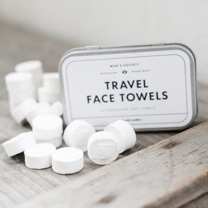 Travel Face Towels - home