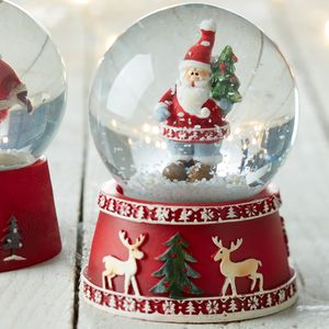 Nordic Snow Globe - snow globes & ornaments