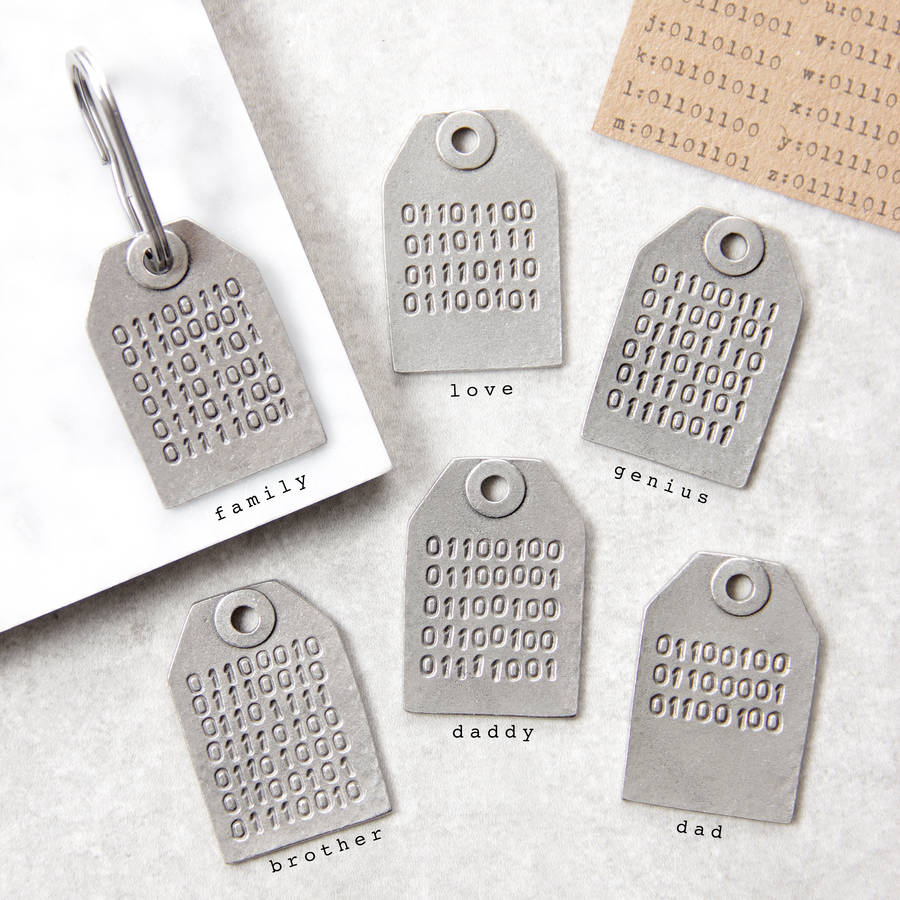 binary code message keyring by kutuu  a828d45c4439