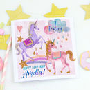 Personalised Children's Birthday Card 'Unicorn Magic'