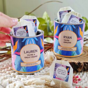 'Close Even When Apart' Personalised Tea Bags