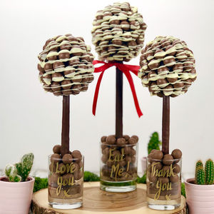 Personalised Malteser Chocolate Edible Tree