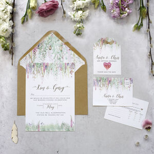 'Whimsical' Wedding Invitations