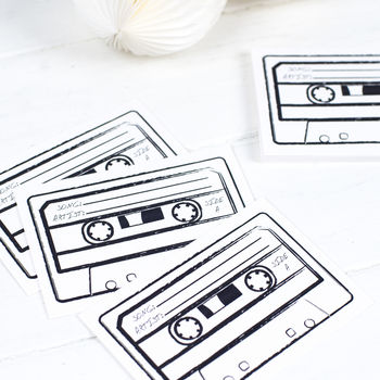 Cassette Song Request Cards