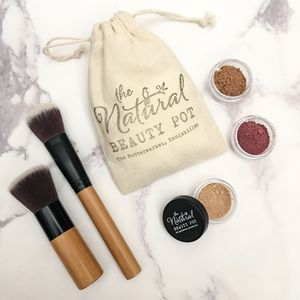 Medium Skin Tone Mineral Make Up Gift Set - whatsnew
