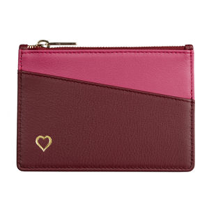 Personalised Purse With Gold Heart - personalised