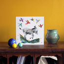 Dancing Donkey Greetings Card