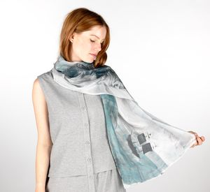 Esja Silk Scarf - womens