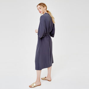 Supersoft Lazy Morning Dressing Gown - women's fashion