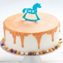 Personalised Rocking Horse Birthday Cake Topper