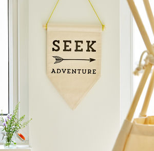 Seek Adventure Banner - for little adventurers