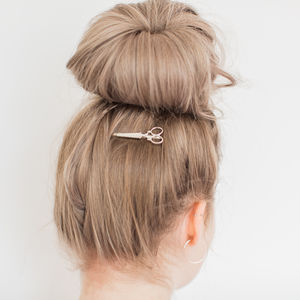Scissors Hair Pin Clip - hair accessories