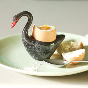 Black Swan Egg Cup - dining room