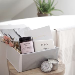 'Bathtime Indulgence' Pamper Gift Box For Her - gifts for her