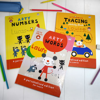 Personalised Learning Through Art Activity Book