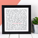 Fitness Fanatic Print; Fitness Lover Gift