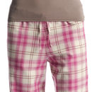 Womens Pink Check Pj Bottoms