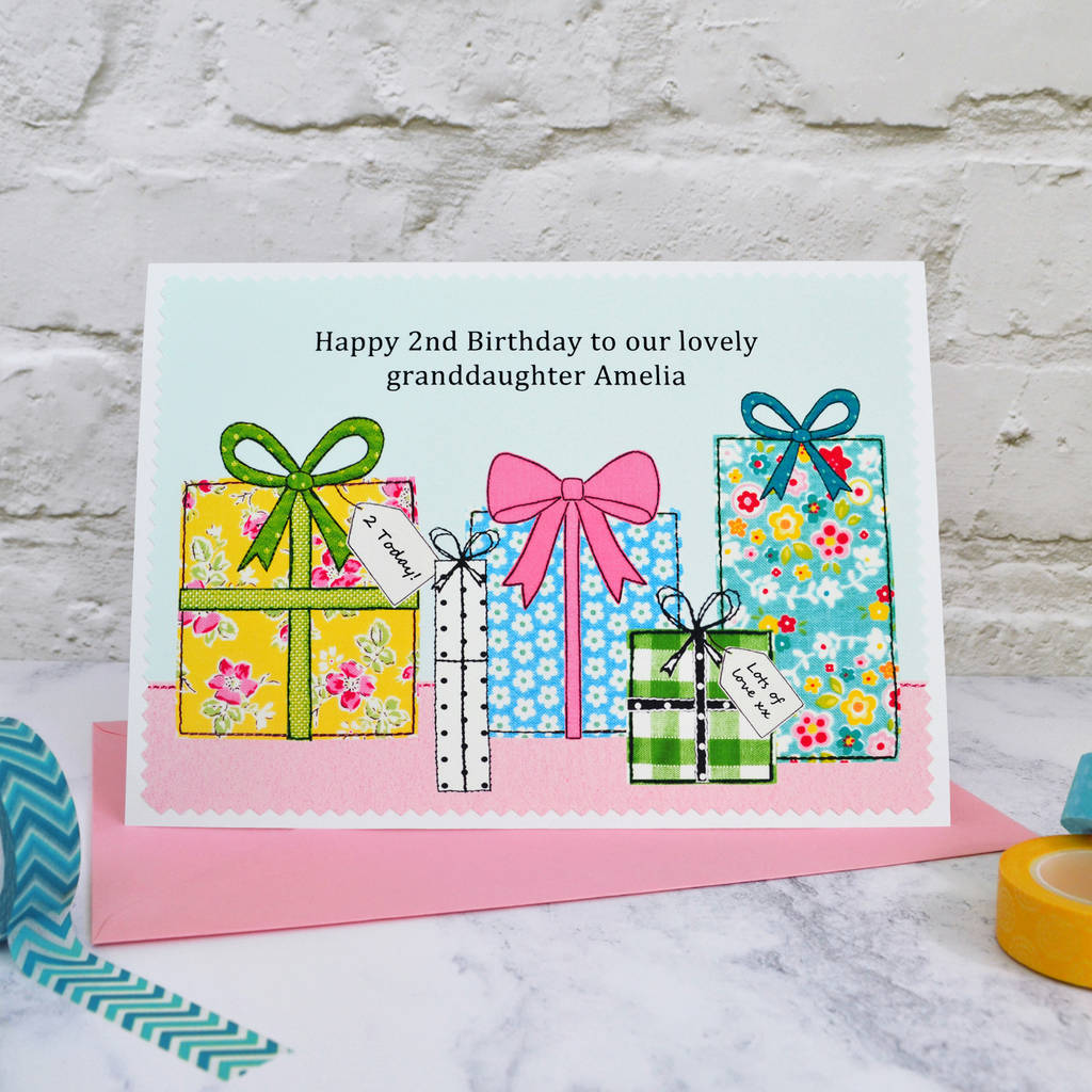 Large A5 Girls Womens Birthday Card By Jenny Arnott Cards And Gifts