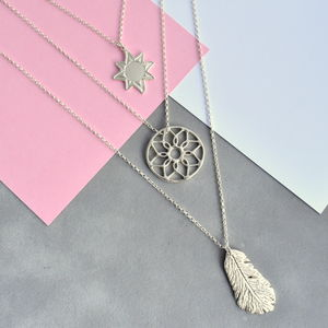 Sunrise Layered Interchangeable Necklace