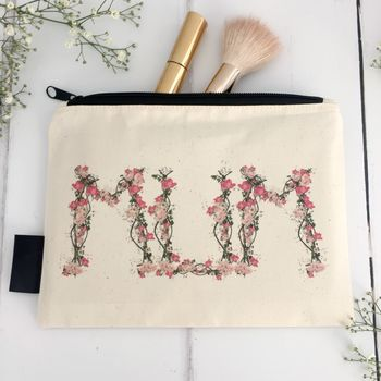 'Mum' Woodland Mum's Make Up Bag