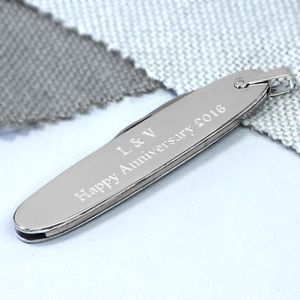 Personalised Silver Victorinox Penknife - home decorating