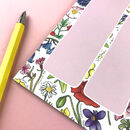 Wildflowers Weekly Planner Notepad