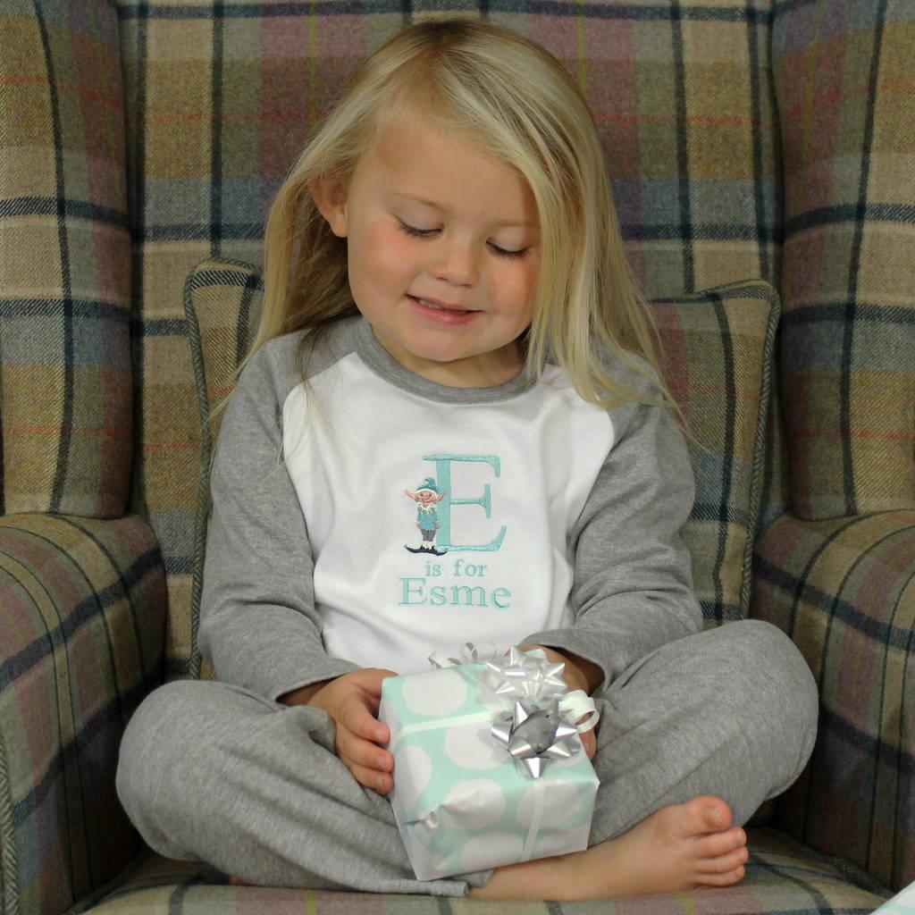 Christmas Alphabet Pyjamas