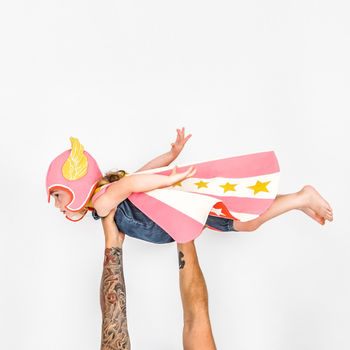 Pink Pegasus Super Hero Set
