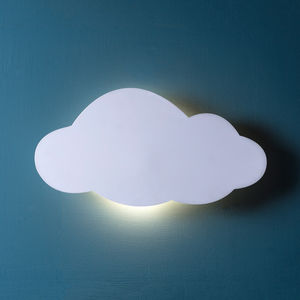 Cloud Silhouette Wall Light - baby's room