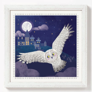 Harry Potter Hedwig Print