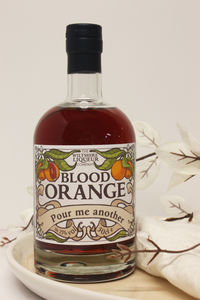 Personalised Blood Orange Liqueur - personalised
