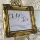 Welcome Personalised Wedding Sign