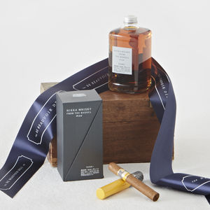 Nikka From The Barrel And Cohiba Cigar - wines, beers & spirits