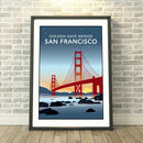 Golden Gate Bridge, San Francisco, USA Print