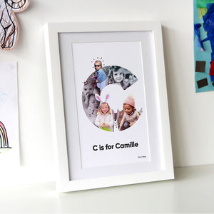 Personalised Photo Collage - baby's room