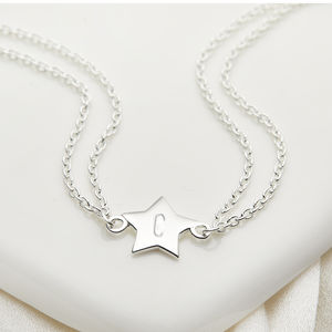 Personalised Little Wish Star Bracelet