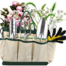 Gardening Tools Gift Kit Non Slip Handle With Tote Bag