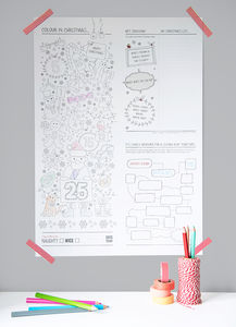Christmas Activity Poster