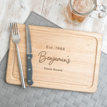 Personalised Funny Cutting Board For Him